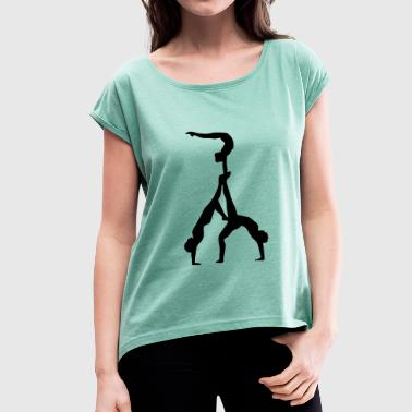 Acrobatics Acrobatics - Women's T-Shirt with rolled up sleeves