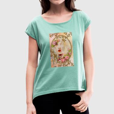 Wise WISE - Women's T-Shirt with rolled up sleeves