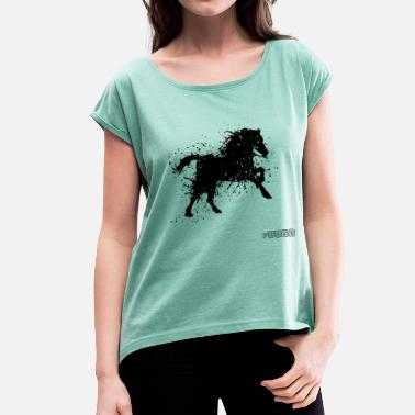 The-furies Fury - Women's T-Shirt with rolled up sleeves