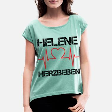 Helene Helene - Women's T-Shirt with rolled up sleeves