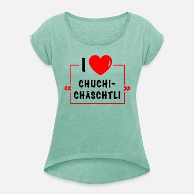 T Femme Shirt Suisse I Love dCerBox