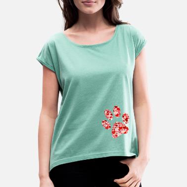 Paw paw - Women's Rolled Sleeve T-Shirt