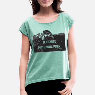 National Yosemite National Park - Women's Rolled Sleeve T-Shirt