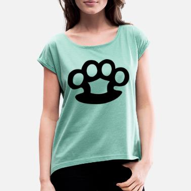 Brass Knuckles brass knuckles - Women's T-Shirt with rolled up sleeves