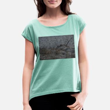 Sand sand - Women's Rolled Sleeve T-Shirt