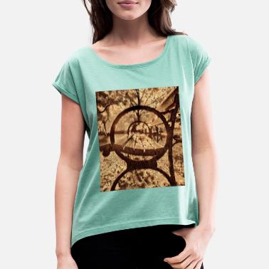 Central Park Central Park, New York, USA - Women's Rolled Sleeve T-Shirt