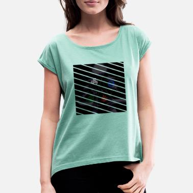 Avatar - Four Elements - Triangle Design - Women's Rolled Sleeve T-Shirt