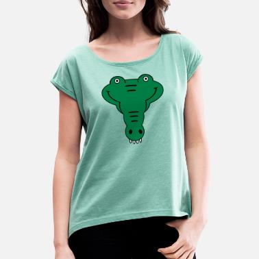 Alligator alligator - Women's Rolled Sleeve T-Shirt