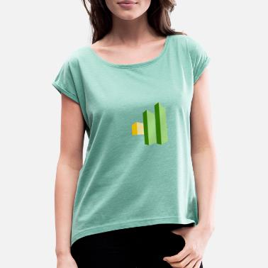 Column columns - Women's Rolled Sleeve T-Shirt