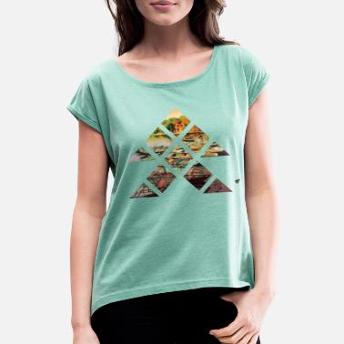 Hanoi Hanoi - Women's T-Shirt with rolled up sleeves