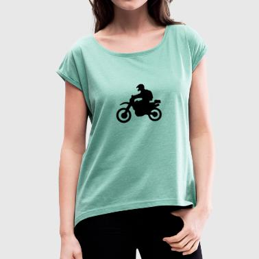 enduro - Women's T-shirt with rolled up sleeves