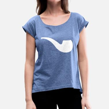 Whistle whistle - Women's T-Shirt with rolled up sleeves