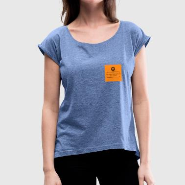 Moneygrubbing The Dubs Collective - Women's T-Shirt with rolled up sleeves