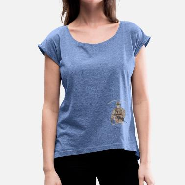 Value values - Women's T-Shirt with rolled up sleeves
