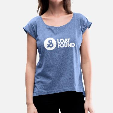 Lost And Found LOST & FOUND - Women's T-Shirt with rolled up sleeves