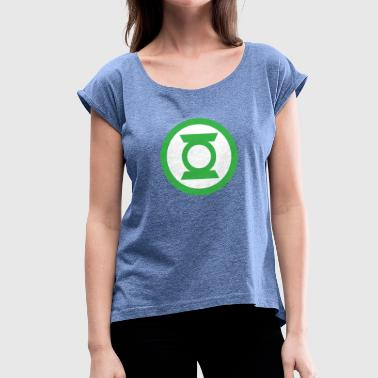 Circle in circle - Women's T-Shirt with rolled up sleeves