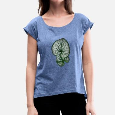 Botanical Connected - Women's T-Shirt with rolled up sleeves