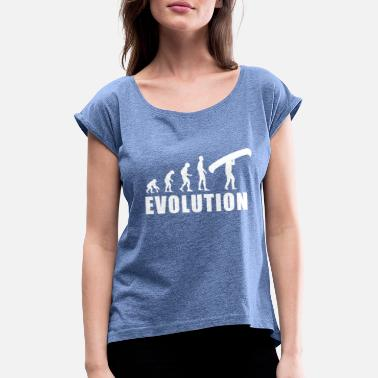 Evolution Canoe EVOLUTION CANOE - Women's Rolled Sleeve T-Shirt