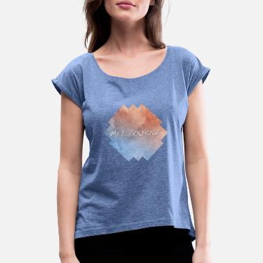 Melbourne Melbourne - Women's Rolled Sleeve T-Shirt