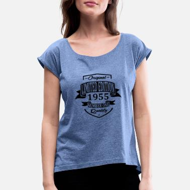 50 Limited Edition 1955 - Women's Rolled Sleeve T-Shirt