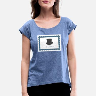 Mr. Darcy shirt - Women's Rolled Sleeve T-Shirt