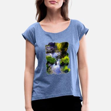 Pond The pond - Women's Rolled Sleeve T-Shirt