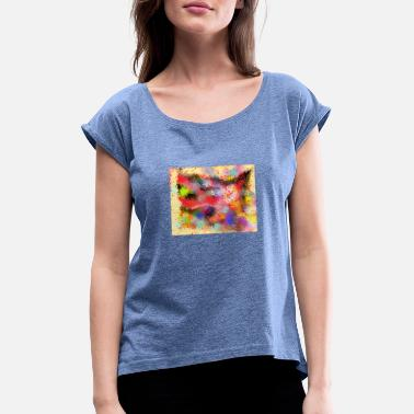 Color Glory Mix 2 - Women's Rolled Sleeve T-Shirt