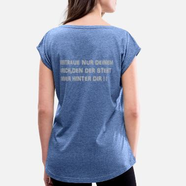 Tramp Stamp Untitled 11 - Women's Rolled Sleeve T-Shirt