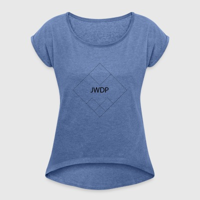 JWDP Symmetry - Women's T-shirt with rolled up sleeves