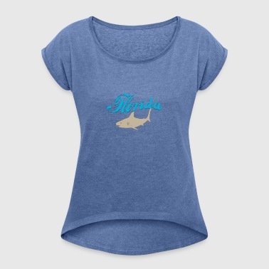 Miami Beach - Women's T-shirt with rolled up sleeves
