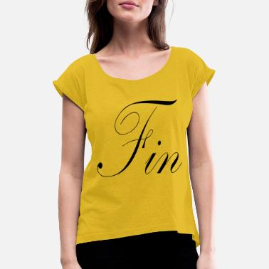 Fin Fin - Women's Rolled Sleeve T-Shirt