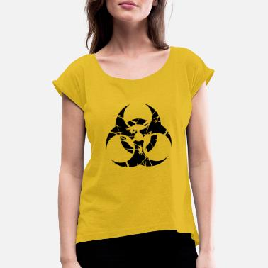 Nuclear nuclear - Women's Rolled Sleeve T-Shirt