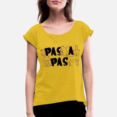 copy passers - Women's Rolled Sleeve T-Shirt