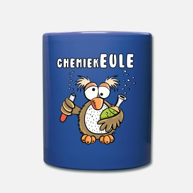 Apotheker Chemical Club Owl I Apotheker I Word Game Gift - Mok uni