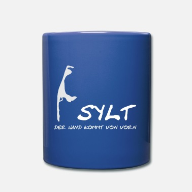 Sylt - the wind comes from the beginning - Mug