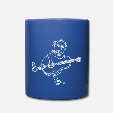 Joey Joey Guitar - Full Colour Mug