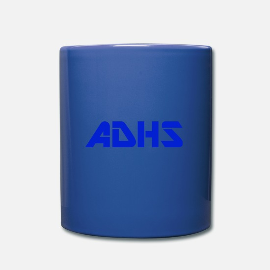 Adhd Mugs et récipients - ADHD WEAR - Mug bleu royal