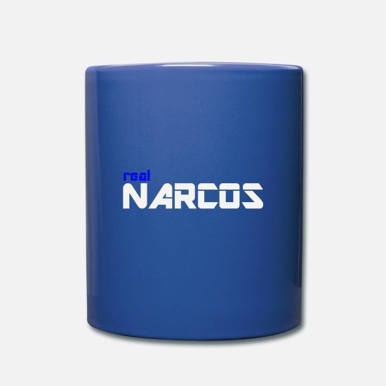 Narcos Mugs et récipients - NARCOS WEAR - Mug bleu royal