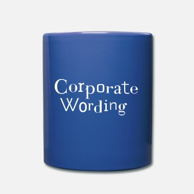 Corporate Corporate wording - corporate culture CI - Mug