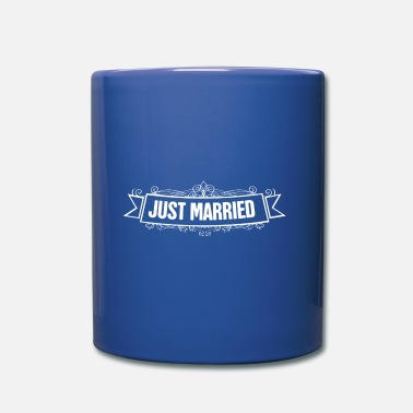 Devise Just Married Just Married Mariage dit - Mug