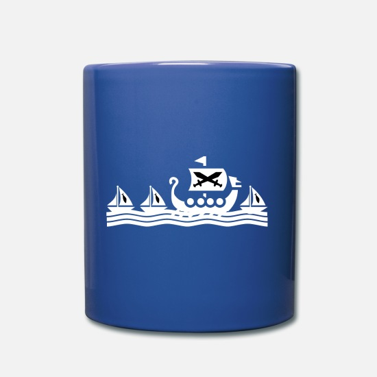 Birthday Mugs & Drinkware - dragon boat - Mug royal blue
