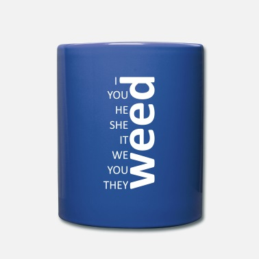 weed together white - Mug