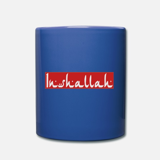 Gift Idea Mugs & Drinkware - Inshala - Mug royal blue