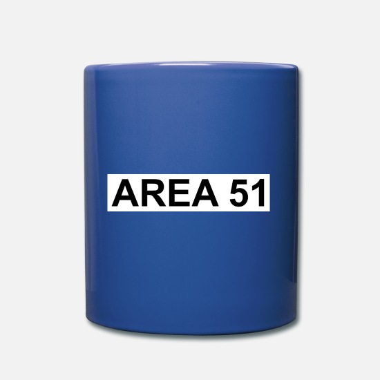 Gift Idea Mugs & Drinkware - AREA 51 - Mug royal blue