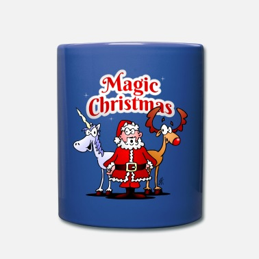 Magic Christmas unicorn - Full Colour Mug