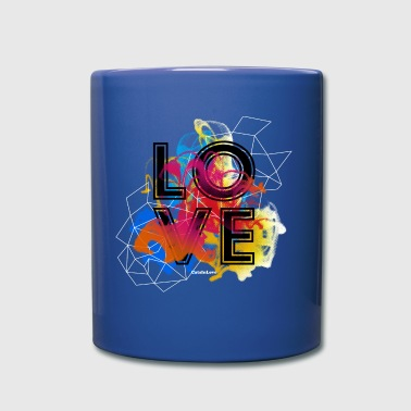 Love Flow - The Colored Shirts Edition - Tasse einfarbig