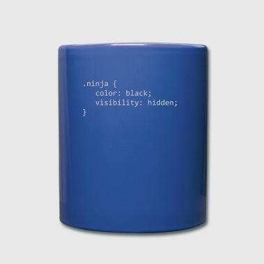 Ninja CSS - Full Colour Mug