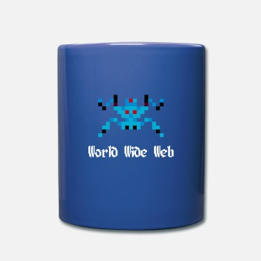 World Wide Web 8-Bit Spinne (World Wide Web) - Tasse