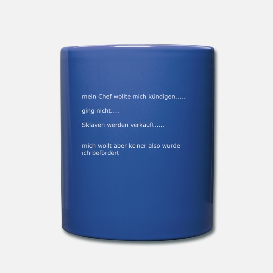 Gift Idea Mugs & Drinkware - For transportation - Mug royal blue