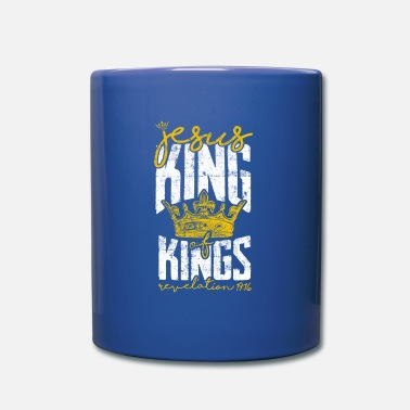 King Jesus King of Kings Bible Verse - Full Colour Mug